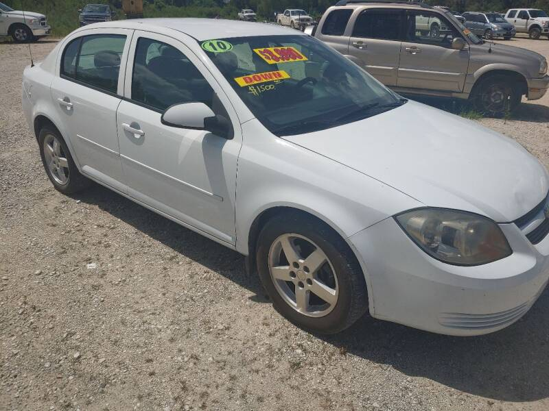 2010 Chevrolet Cobalt for sale at Finish Line Auto LLC in Luling LA