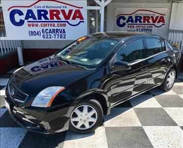 2012 Nissan Sentra for sale in Richmond, VA