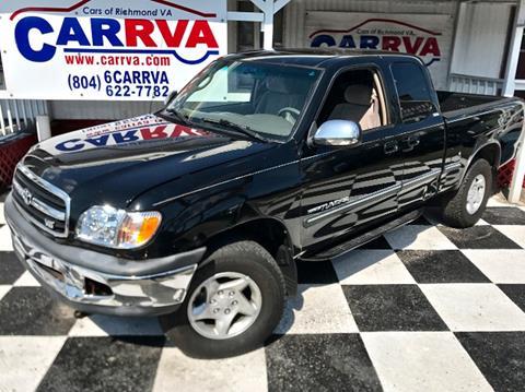 2000 Toyota Tundra for sale in Richmond, VA