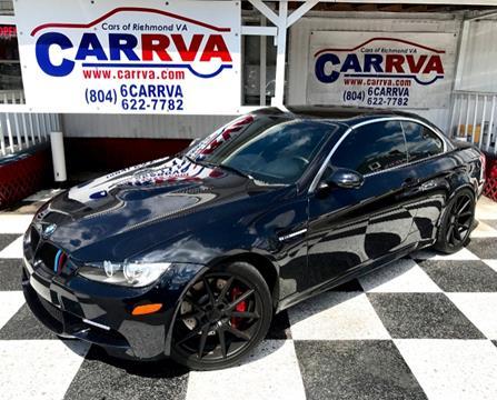 2012 BMW M3 for sale in Richmond, VA