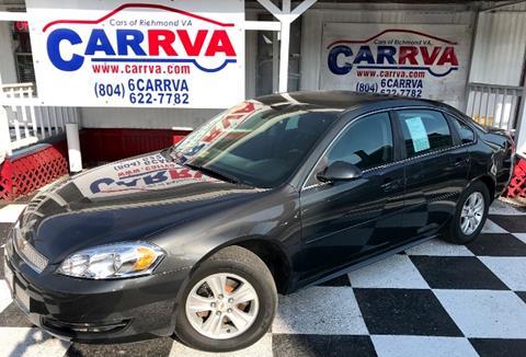 2013 Chevrolet Impala for sale in Richmond, VA