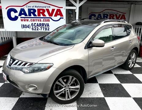 2010 Nissan Murano for sale in Richmond, VA