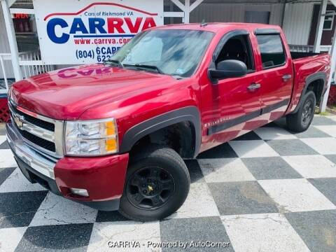 2007 Chevrolet Silverado 1500 for sale at CARRVA in Richmond VA