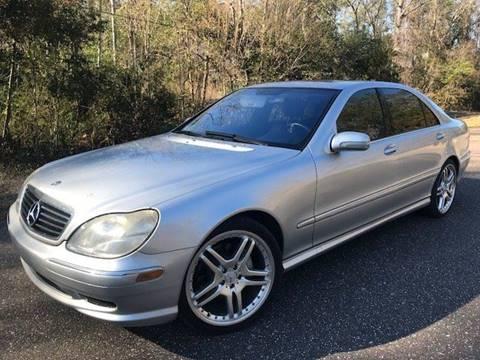 2002 Mercedes-Benz S-Class for sale at Next Autogas Auto Sales in Jacksonville FL