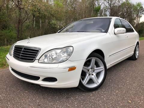 2003 Mercedes-Benz S-Class for sale at Next Autogas Auto Sales in Jacksonville FL
