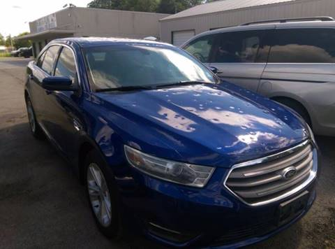 2014 Ford Taurus for sale at North Point Auto Sales in Nowata OK