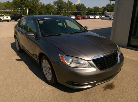 2013 Chrysler 200 for sale at North Point Auto Sales in Nowata OK