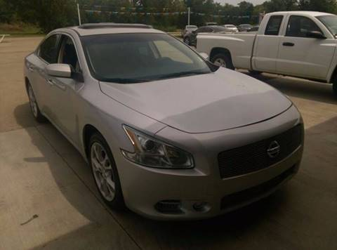2014 Nissan Maxima for sale at North Point Auto Sales in Nowata OK