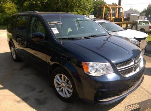2014 Dodge Grand Caravan for sale at North Point Auto Sales in Nowata OK