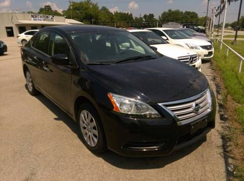 2014 Nissan Sentra for sale at North Point Auto Sales in Nowata OK