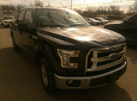 2016 Ford F-150 for sale at North Point Auto Sales in Nowata OK