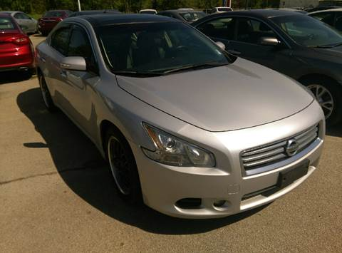 2013 Nissan Maxima for sale at North Point Auto Sales in Nowata OK