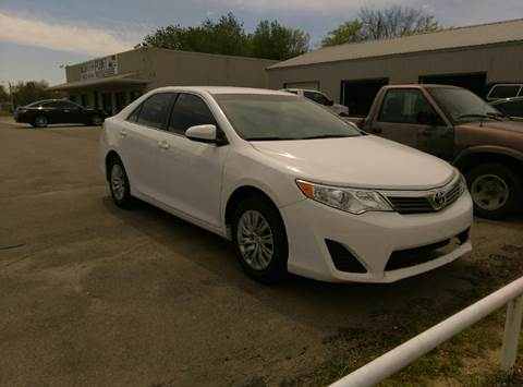 2014 Toyota Camry for sale at North Point Auto Sales in Nowata OK
