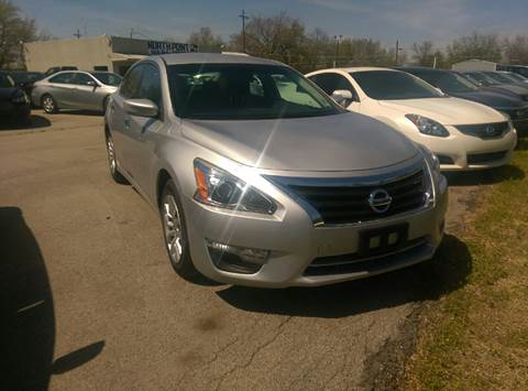 2015 Nissan Altima for sale at North Point Auto Sales in Nowata OK