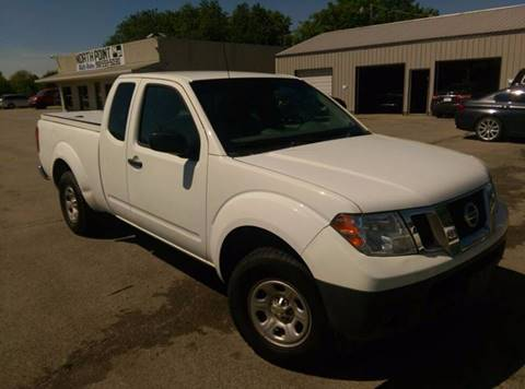 2015 Nissan Frontier for sale at North Point Auto Sales in Nowata OK