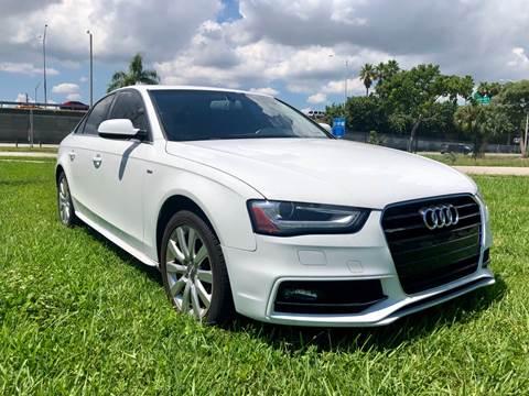 2015 Audi A4 for sale in Hallandale Beach, FL