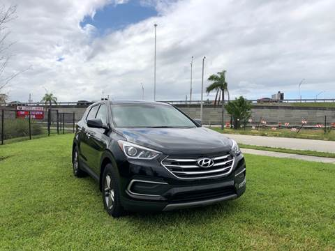 2018 Hyundai Santa Fe Sport for sale in Hallandale Beach, FL