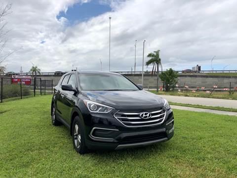 2018 Hyundai Santa Fe Sport for sale in Hallandale Beach, FL