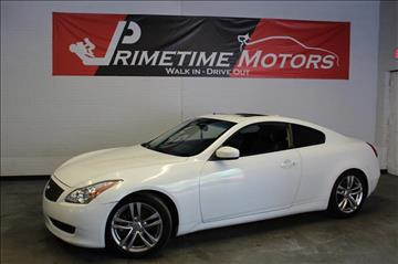 2009 Infiniti G37 Coupe for sale in Dallas, TX