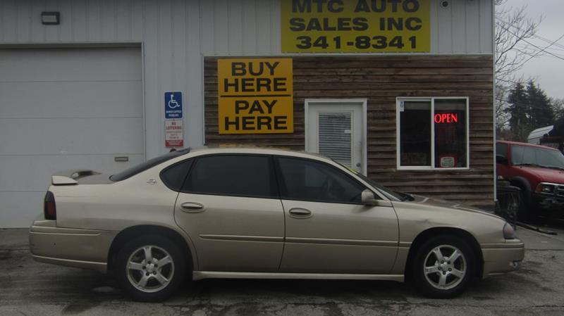 2005 Chevrolet Impala For Sale At MTC AUTO SALES In Omaha NE