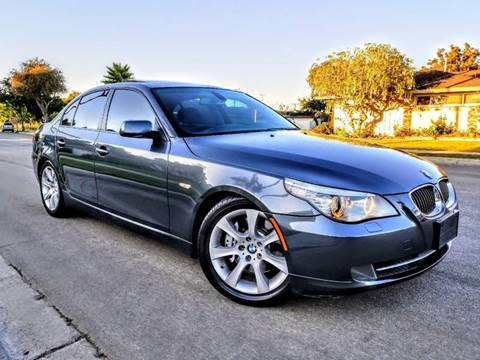 2008 BMW 5 Series for sale at LAA Leasing in Costa Mesa CA