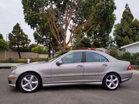 2005 Mercedes-Benz C-Class for sale at LAA Leasing in Costa Mesa CA