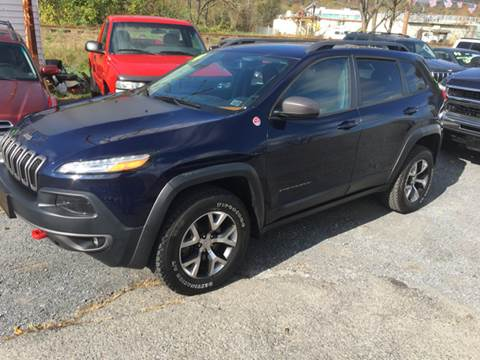 2014 Jeep Cherokee for sale at George's Used Cars Inc in Orbisonia PA