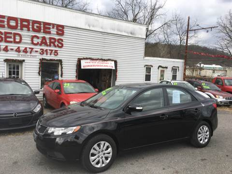 2010 Kia Forte for sale at George's Used Cars Inc in Orbisonia PA