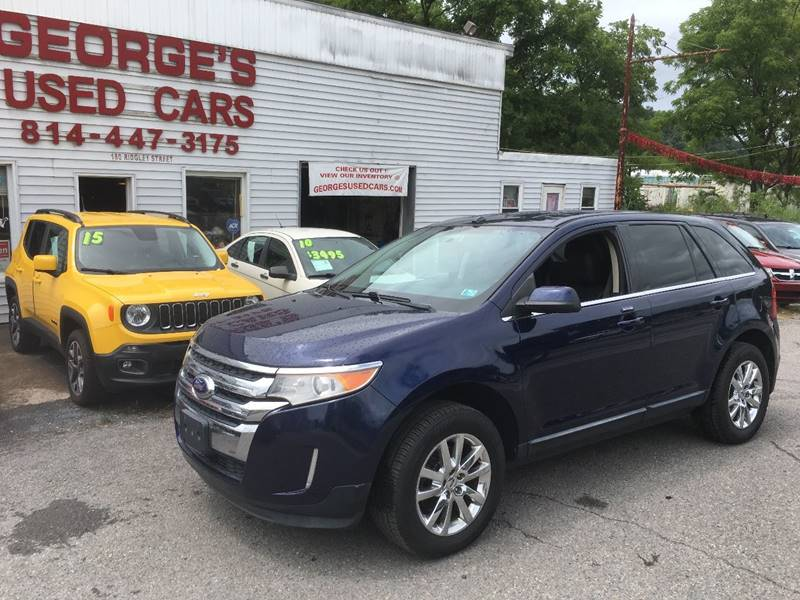 Ford Edge For Sale At Georges Used Cars Inc In Orbisonia Pa