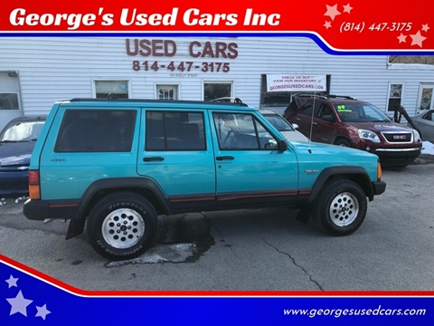 1996 Jeep Cherokee for sale in Orbisonia, PA