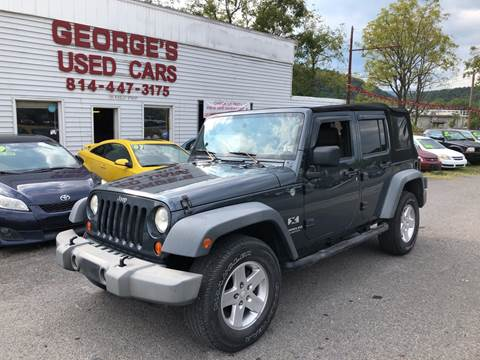 2007 Jeep Wrangler Unlimited for sale in Orbisonia, PA