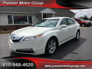 2011 Acura TL for sale in Spring City, PA