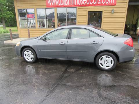 2008 Pontiac G6 for sale in Muskegon, MI