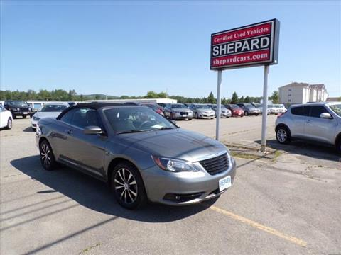 2012 Chrysler 200 Convertible for sale in Rockland, ME