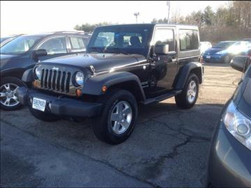 2012 Jeep Wrangler for sale in Rockland, ME