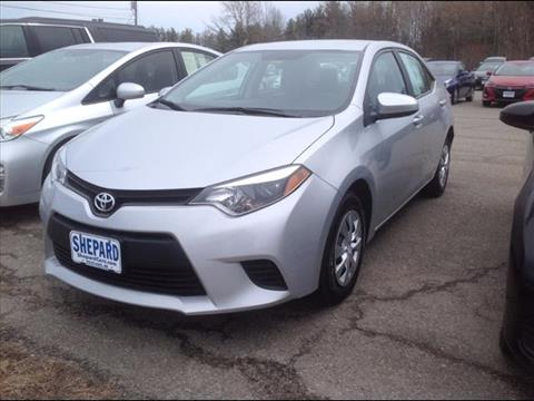 2015 Toyota Corolla for sale in Rockland, ME