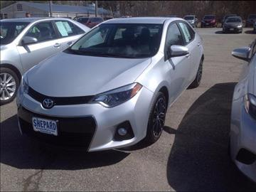 2014 Toyota Corolla for sale in Rockland, ME