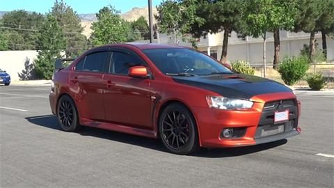 2010 Mitsubishi Lancer Evolution for sale in Carson City, NV