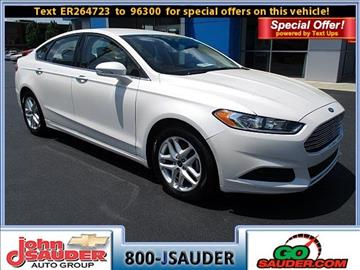 2014 Ford Fusion For Sale - Carsforsale.com