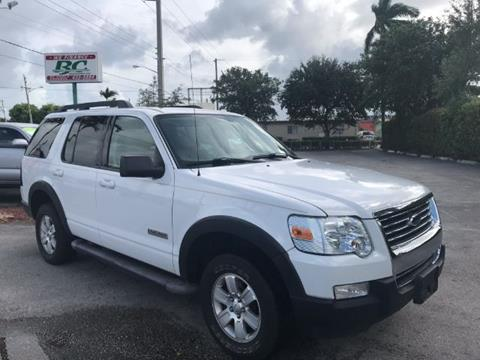 2007 Ford Explorer for sale in West Palm Beach, FL
