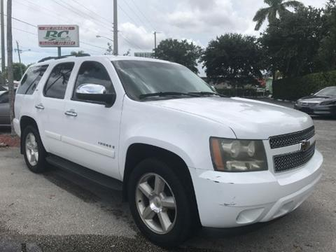 2008 Chevrolet Tahoe for sale in West Palm Beach, FL