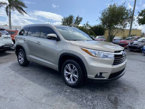 2015 Toyota Highlander for sale at BC Motors in West Palm Beach FL