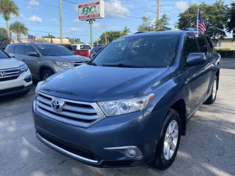 2013 Toyota Highlander for sale at BC Motors in West Palm Beach FL