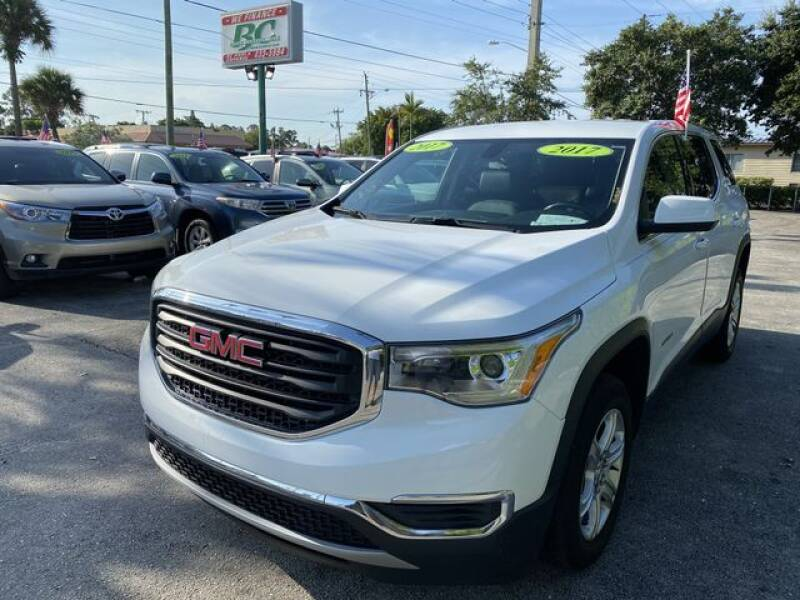 2017 GMC Acadia for sale at BC Motors in West Palm Beach FL