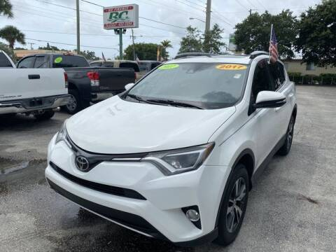 2017 Toyota RAV4 for sale at BC Motors in West Palm Beach FL