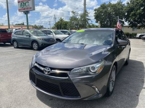 2015 Toyota Camry for sale at BC Motors in West Palm Beach FL