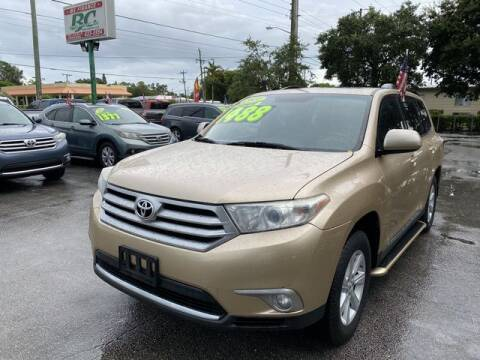 2011 Toyota Highlander for sale at BC Motors in West Palm Beach FL