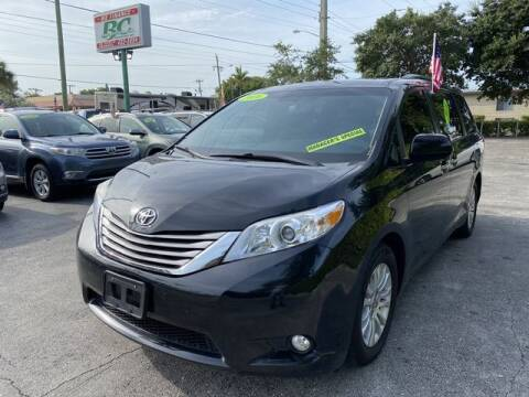 2016 Toyota Sienna for sale at BC Motors in West Palm Beach FL