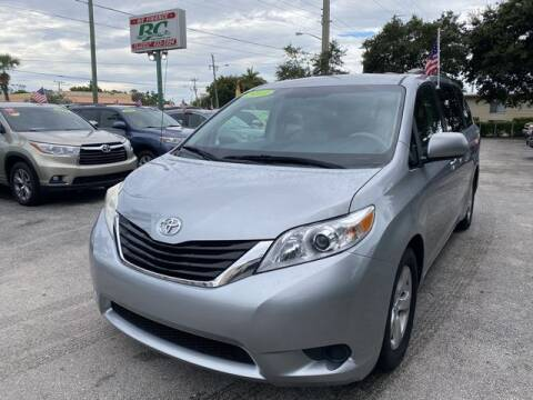 2013 Toyota Sienna for sale at BC Motors in West Palm Beach FL
