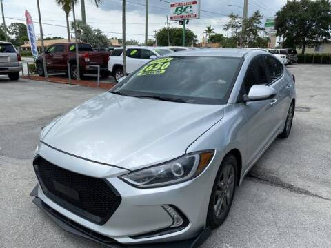 2018 Hyundai Elantra for sale at BC Motors in West Palm Beach FL